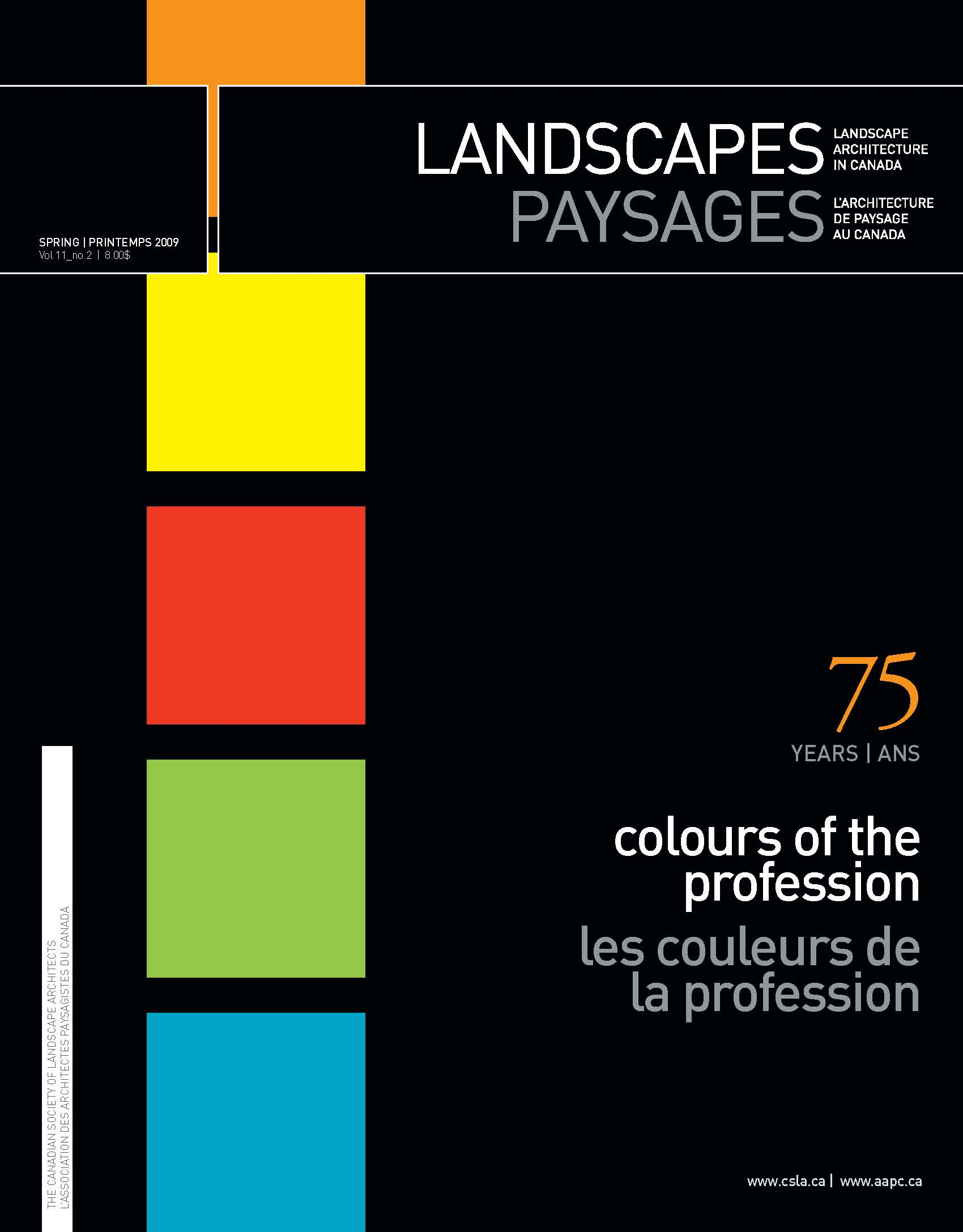 Canadian society of landscape architects for Canadian society of landscape architects