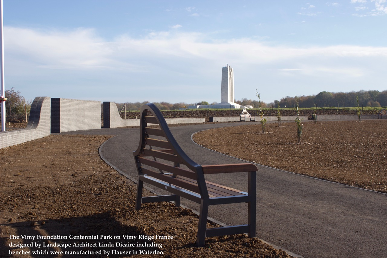 Vimy Centennial Park and Vimy Bench.jpeg