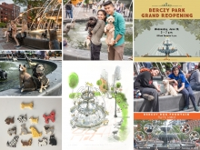 Public appropriation of Berczy Park has been phenomenal.  The park has become a destination that inspires expression, through photos, drawing and painting, even baking. The park has become one of the City's most photographed spots.