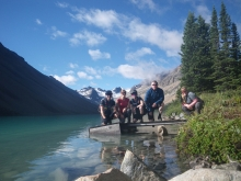 Landscape Architects on mountain bikes...with biologists & GIS experts