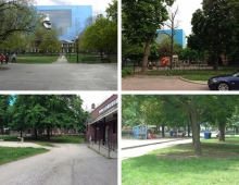 Grange Park before it was reimagined was in a state of decline and underutilized.