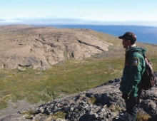 """Kinngaaluk Territorial Park is a very special place that has always provided food that Inuit and our ancestors have needed for survival"" (Lazarus Epoo Kattuq, Chair of Sanikiluaq Community Joint Planning and Management Committee)."