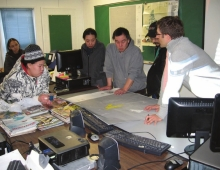 NVision Insight Group led the team that worked closely with the Sanikiluaq CJPMC through each stage of the planning process, including training on the methods of park establishment.