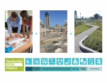 SITES: LEED equivalent for environmental certification of landscape projects, that aims to protect, improve and regenerate the benefits and services of healthy ecosystems for the well-being of the users, with practical strategies and solutions for design, construction, operation and maintenance.