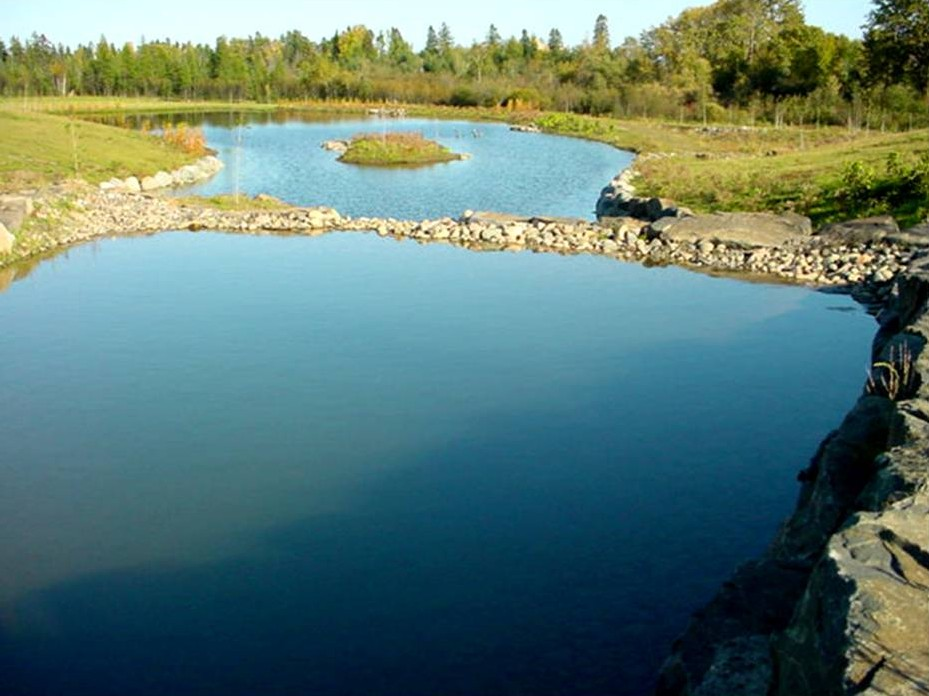 Thunder bay regional hospital integrated storm water for Biofiltration pond