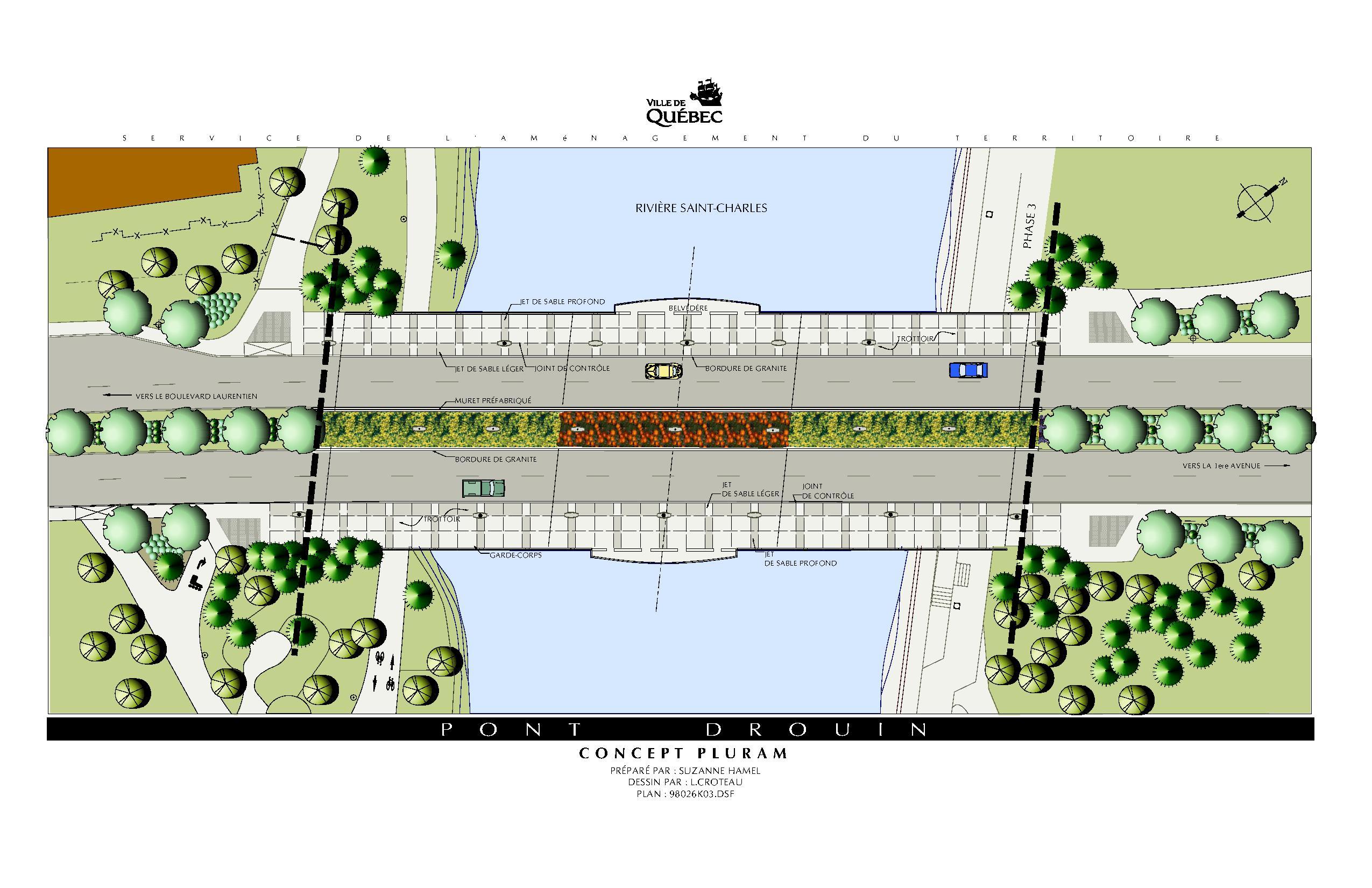 Remodelage Du Pont Drouin P 2198 Csla