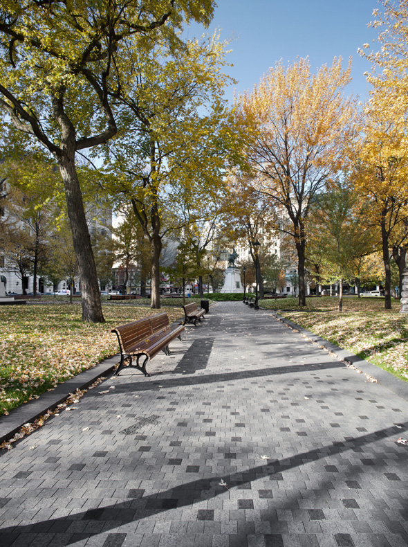 Renewal of dorchester square csla for Landscape architecture canada