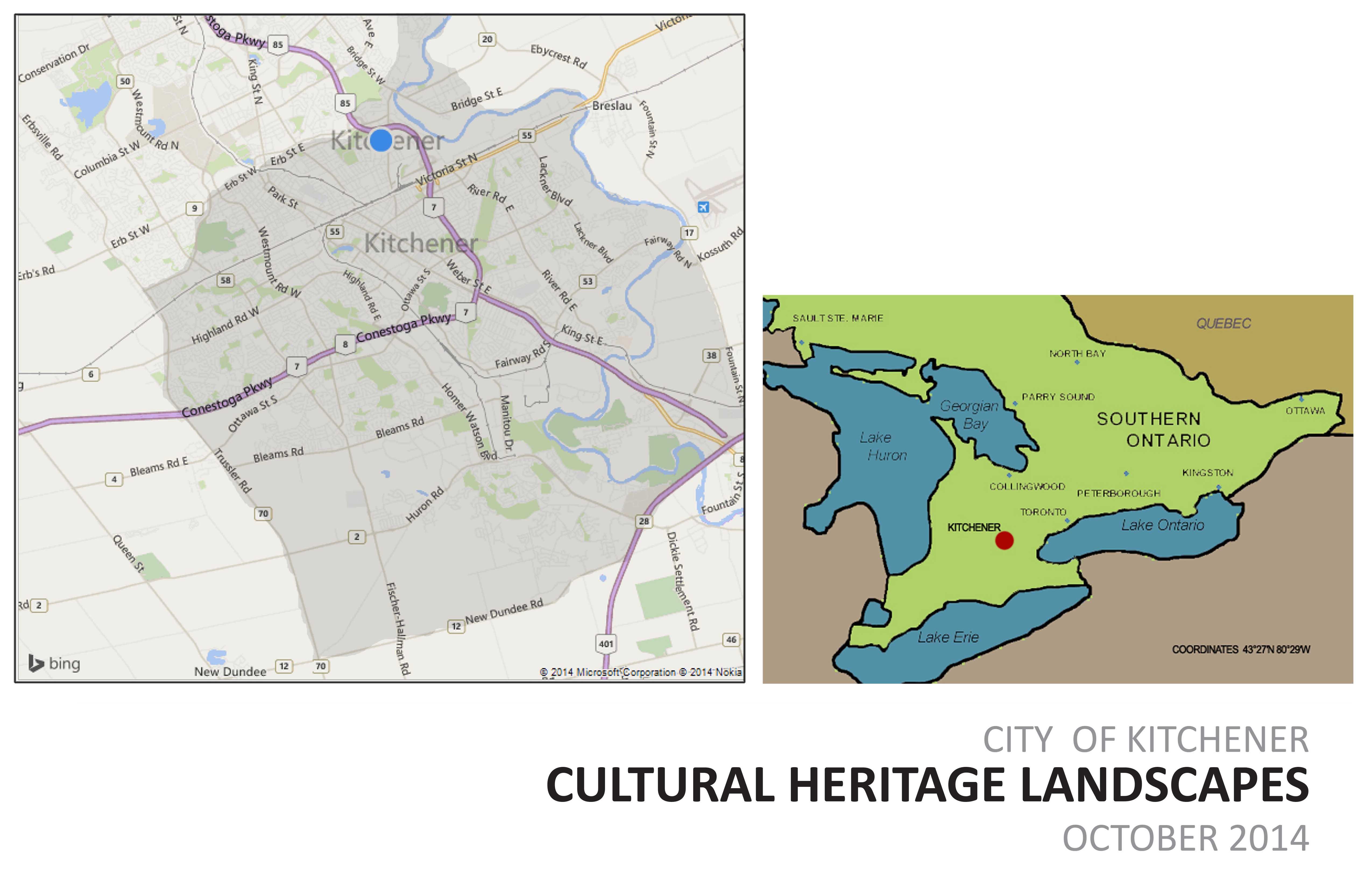 City of Kitchener: Cultural Heritage Landscapes | CSLA